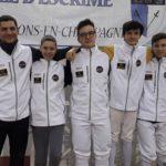 1/2 finales des Championnats de France par équipes M17 – Châlons en Champagne