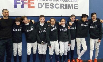 Des médailles lors du championnat de Nouvelle-Aquitaine M15