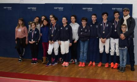 Des podiums au 2e circuit de ligue Nouvelle-Aquitaine